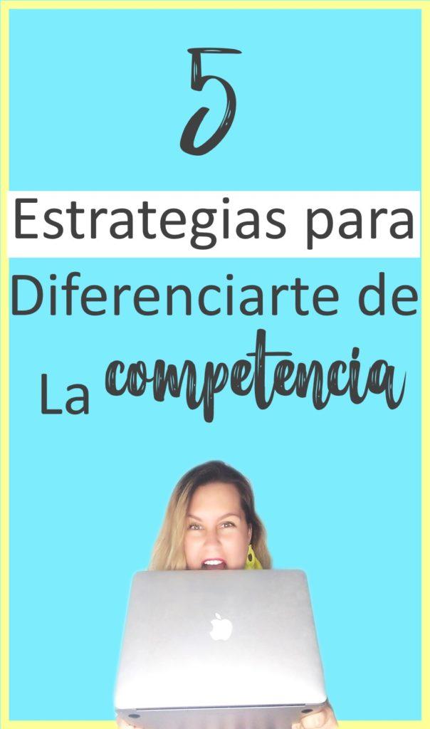 5 estrategias para diferenciarte de la competencia