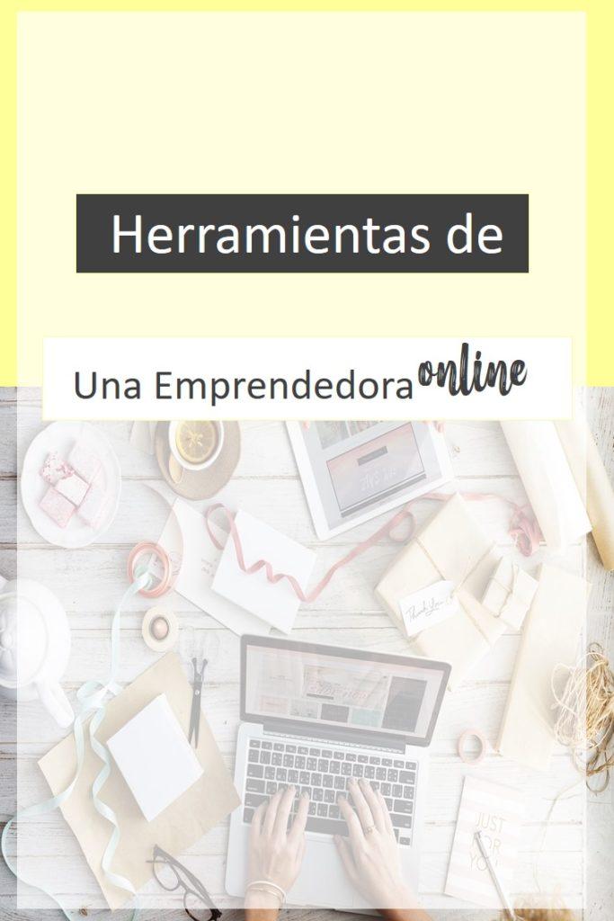 herramientas de una emprendedora online