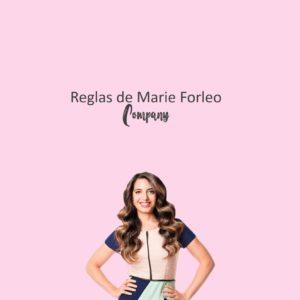 Reglas de Marie Forleo